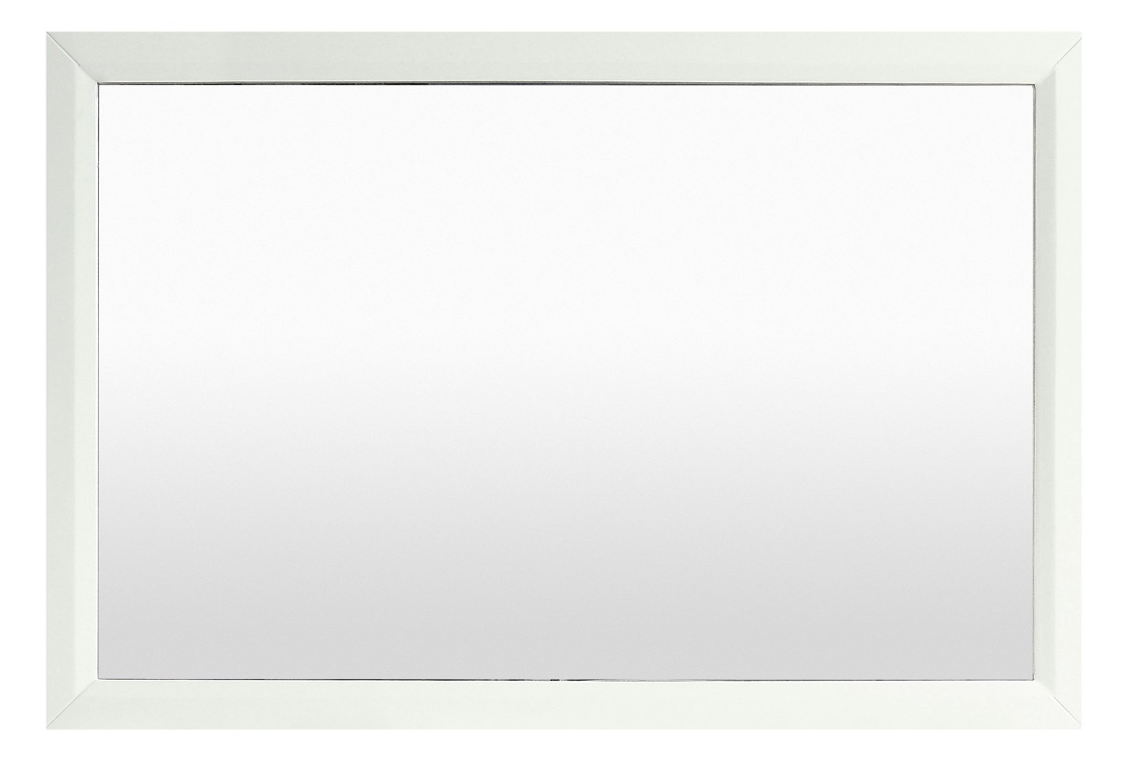 Eviva EVMR412-48 X 30-WH Aberdeen 48'' Framed Bathroom Mirror Combination, White