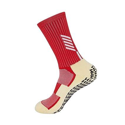 WXMDDN-Calcetines de fútbol/Toalla Antideslizante Calcetines de hombreestudiantes Adultos competición Entrenamiento Calcetines/