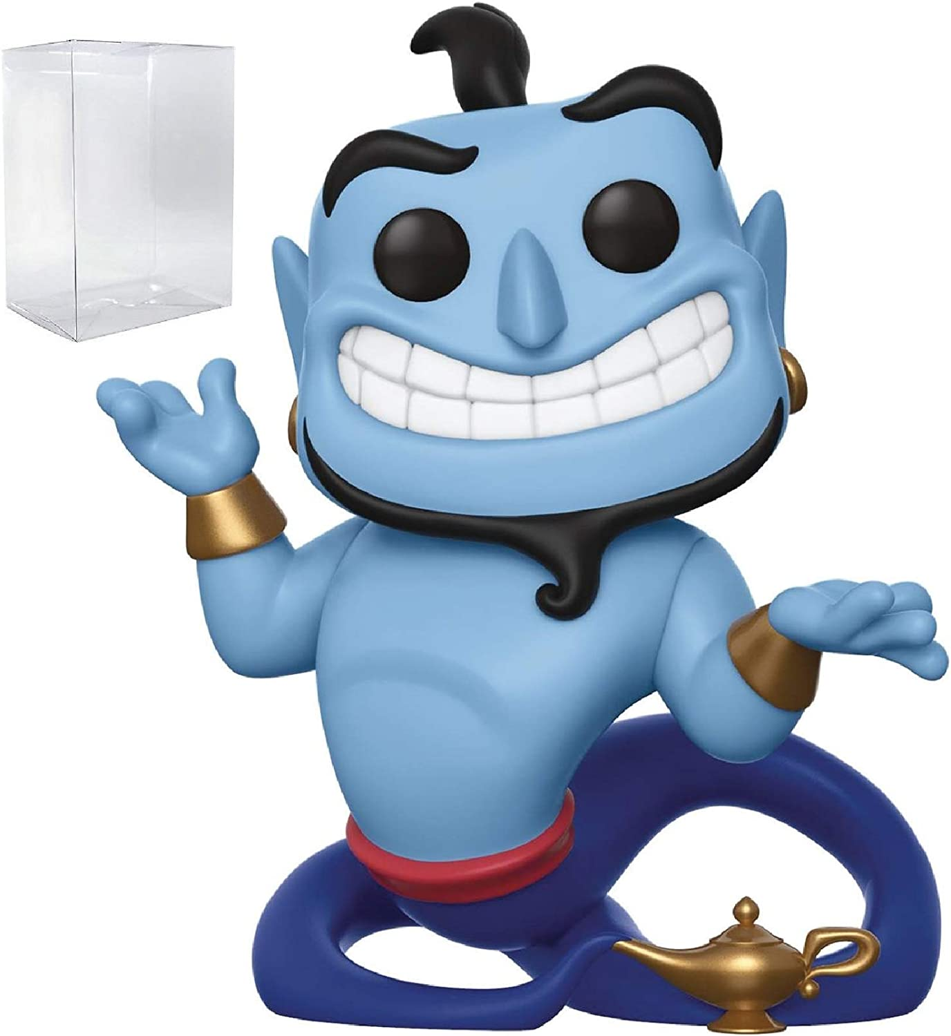 Disney: Aladdin - Genie with Lamp Funko Pop! Vinyl Figure (Includes Pop Box Protector Case)