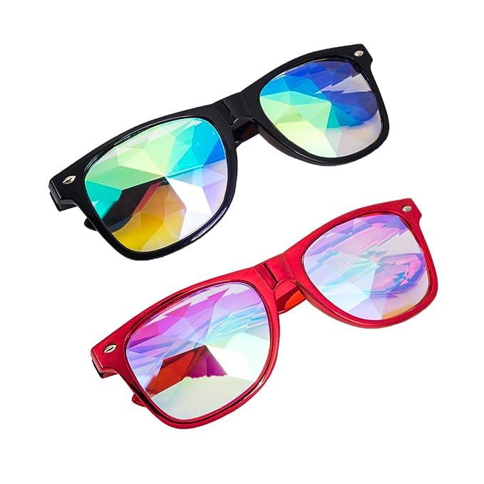 Amazon.com: SLTY - Gafas cuadradas con diseño de ...