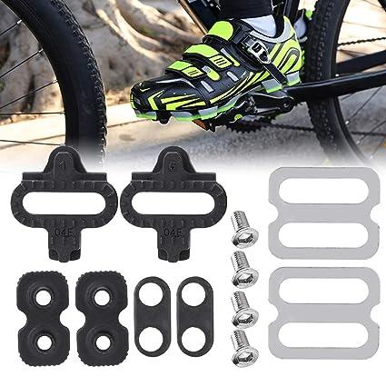53b7b8ac89d Amazon.com   Delaman Bicycle Pedals Cleat Set