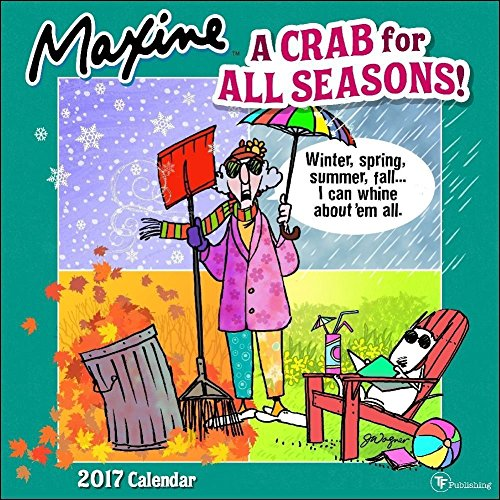 TF Publishing Maxine 2017 Wall Calendar