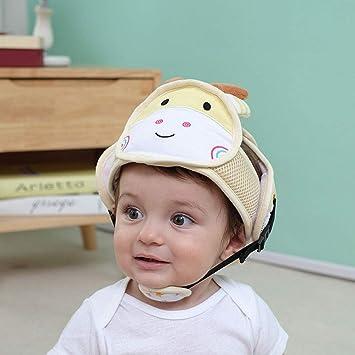 Edelehu Cabeza Protección Bebé Niño Pequeño Casco De Seguridad Ajustable Bebé Casco De Seguridad Utilizado para