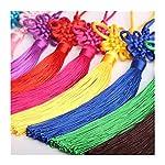 Lilith li Satin Silk Handmade Tassels Chinese knot 5 piece / set