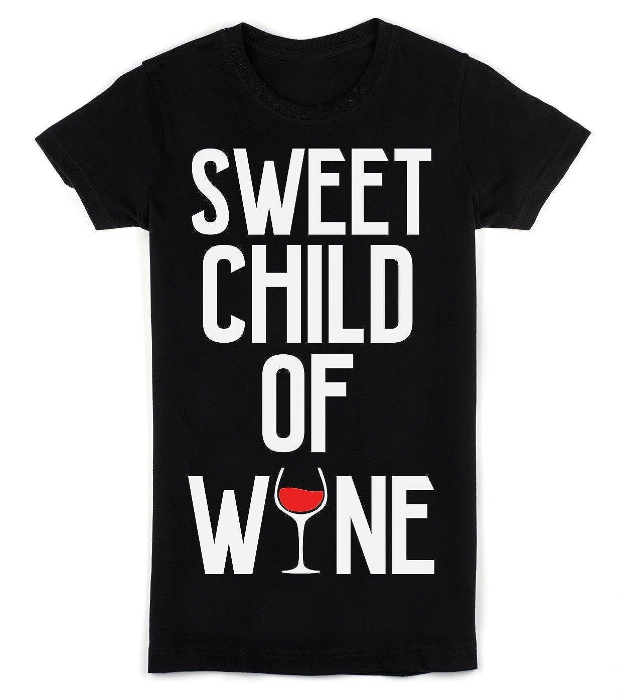 IDcommerce Sweet Child of Wine Nice Glass of Red Wine Mens T-Shirt