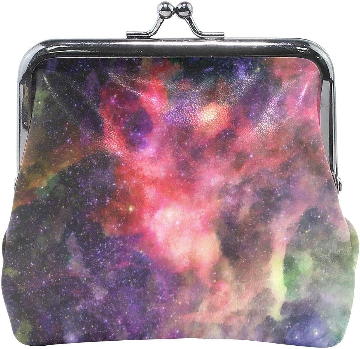 MALPLENA Galaxy Travel Purse Coin case PU leather purse