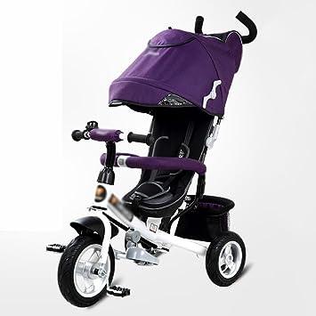 Triciclos Triciclo de niños 1-3 años de edad bicicleta multifunción bebé carro de bebé