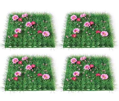 4 Pcs Party Table Decorations Table Decor Flower Placemat