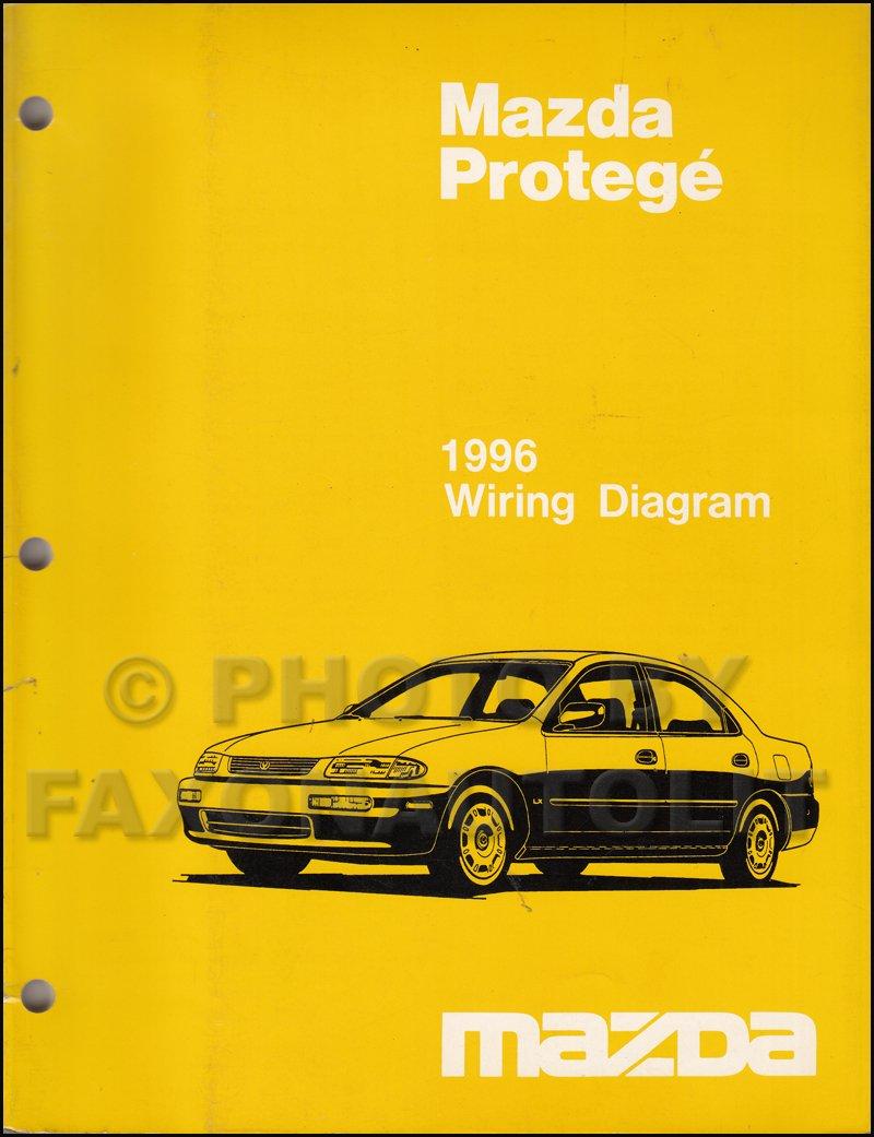 1996 Mazda Protege Wiring Diagram Manual Original: Mazda: Amazon.com: BooksAmazon.com