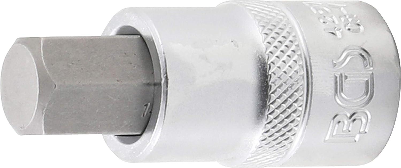 BGS 4257   internal Hexagon 14 mm 1//2 12.5 mm Bit Socket