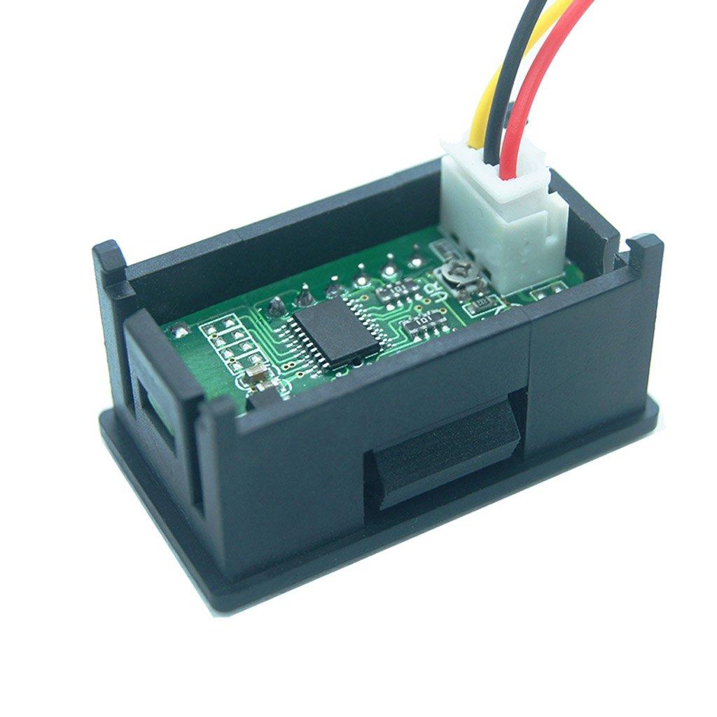 DC 0-99.99V (100V) 4-digits 0.36inch Digital Voltmeter 3Wire Voltage Panel Meter by SQLang (Image #3)