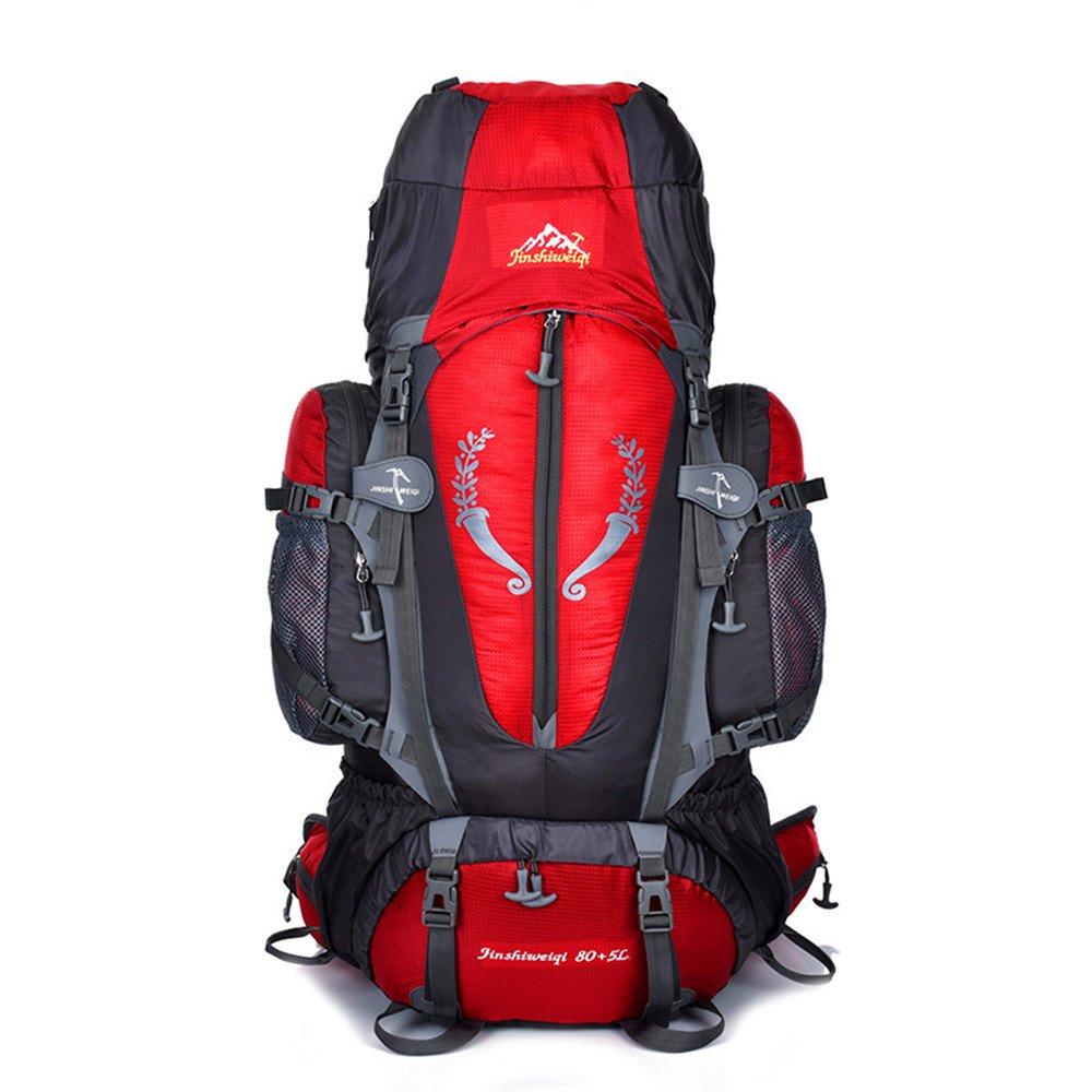 登山/アウトドアトラベルバックパックキット、多機能アウトドアバックパック、男性と女性、男性と女性、レジャートラベルバックパック、ナイロン防水バッグ/適切な場所:乗馬、ハイキング、キャンプ、ハイキング B07D7Q4KDL