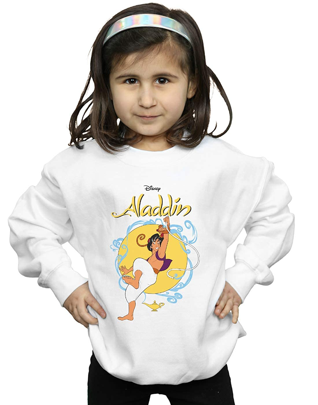 Disney Girls Aladdin Rope Swing Sweatshirt
