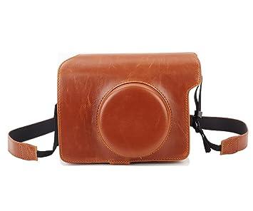 Retro PU Leder Kamera Tasche Tasche für Fujifilm: