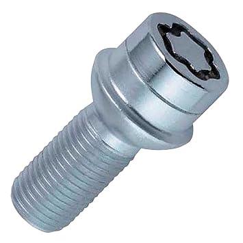McGard 28028SU Standard - Tornillos antirrobo para ruedas (base esférica, M12 x 1,50, longitud del vástago 24,1 mm, SW17): Amazon.es: Coche y moto