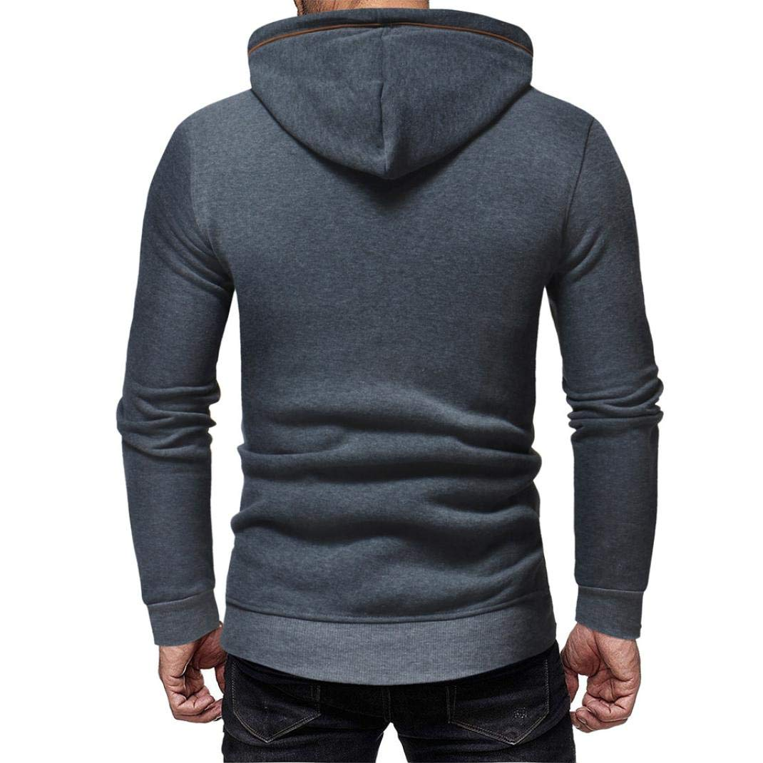 Casual Mens Pocket Tops Sweatshirt,Sirs Hoodie Hooded Pullover Tops Male Outwear Autum Blouse Winter Clothes Men