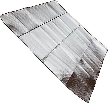 Alu Matte Isoliermatte Zeltmatte Isomatte Bodenmatte Camping 190 x 55 cm