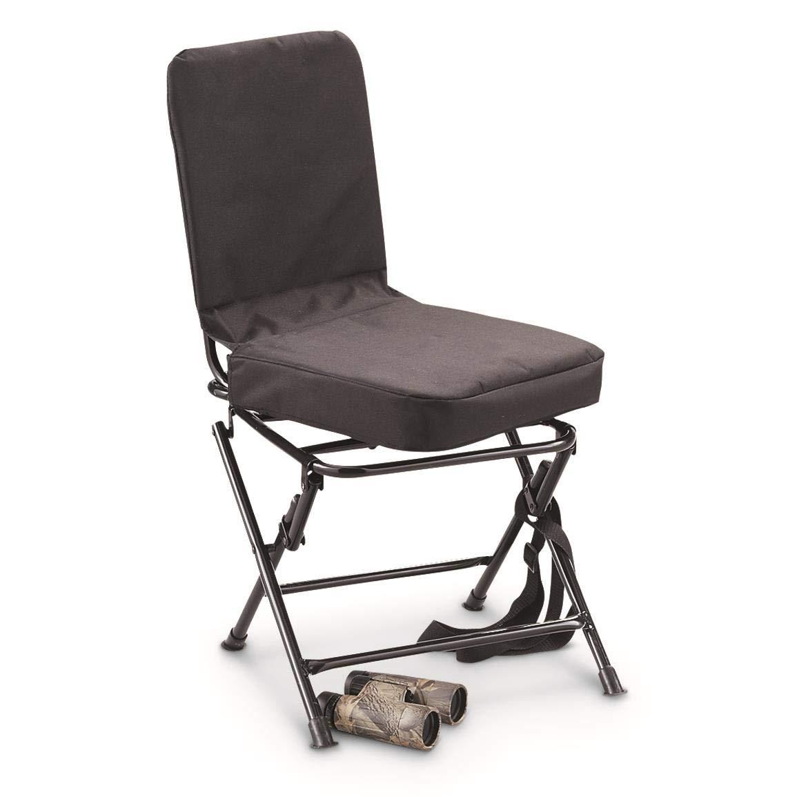 Swivel Hunting Chair Blind Seat Folding 360 Degree ...