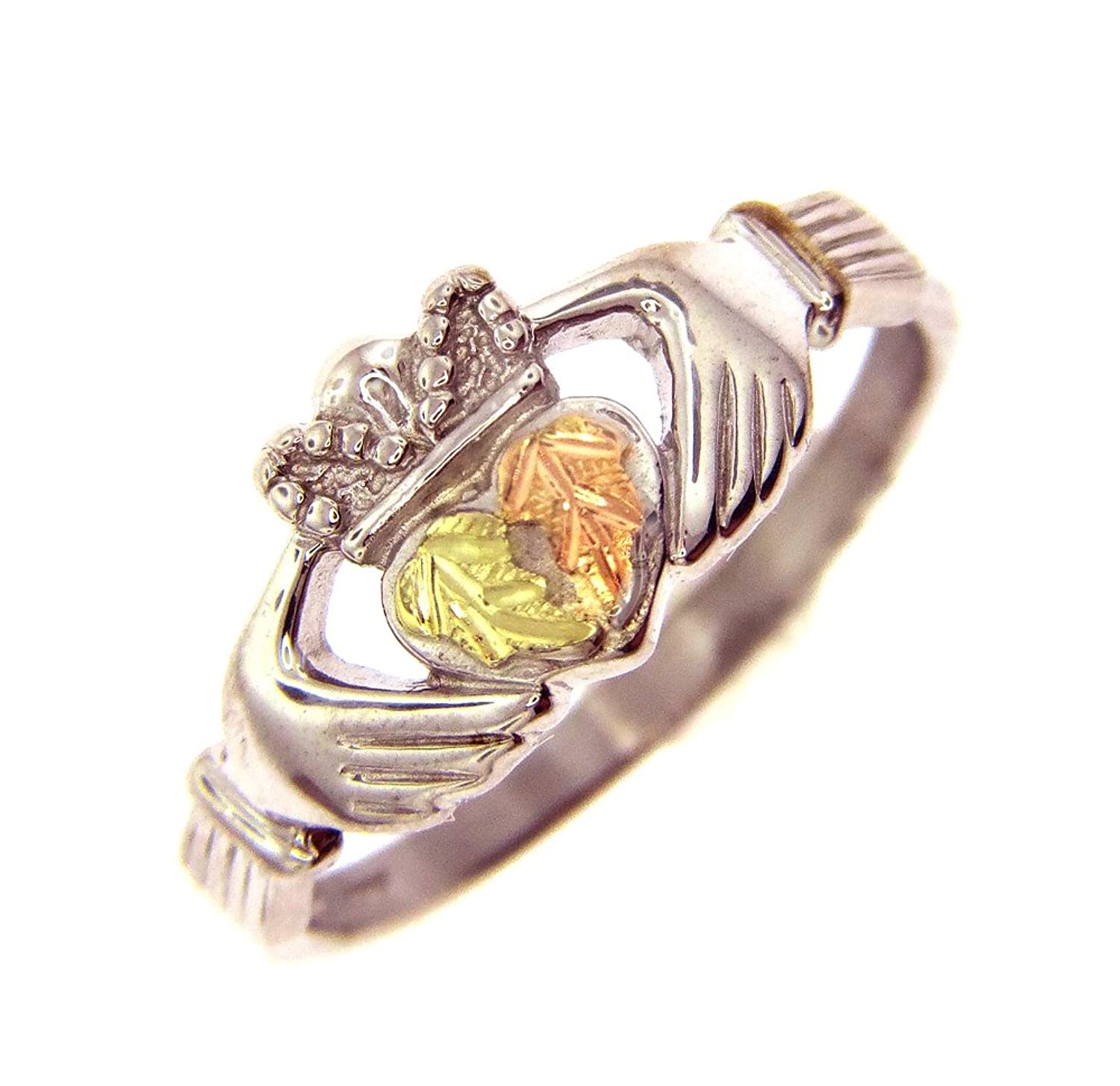 vintage ring hills leaf grape rose black the gold cocktail rings yellow green products