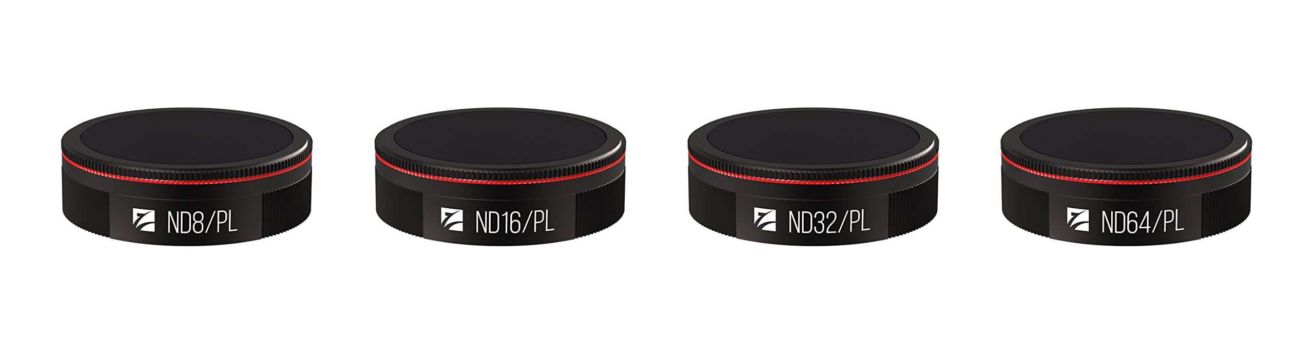 Freewell Bright Day 4 Pack ND8/PL, ND16/PL, ND32/PL, ND64/PL Filters Compatible with Autel Evo by Freewell