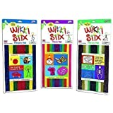 Neon, Primary and Nature Pak - 3 Pack Wikki Stix