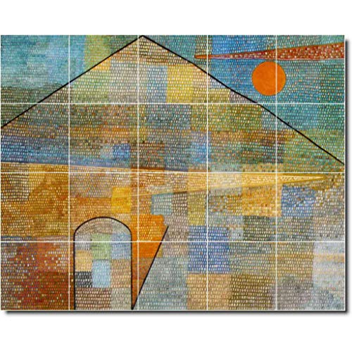 Ceramic Tile Mural-Paul Klee Abstract Painting 31. 30