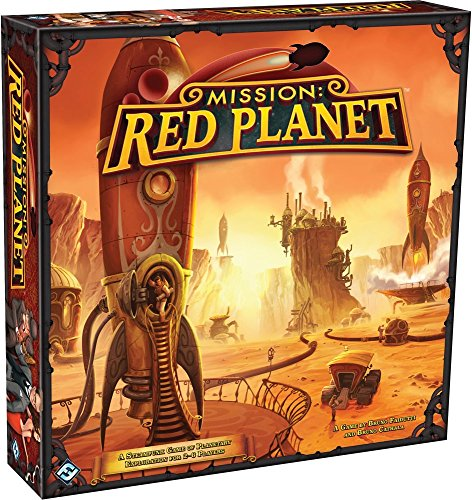 Mission Red Planet Board Game