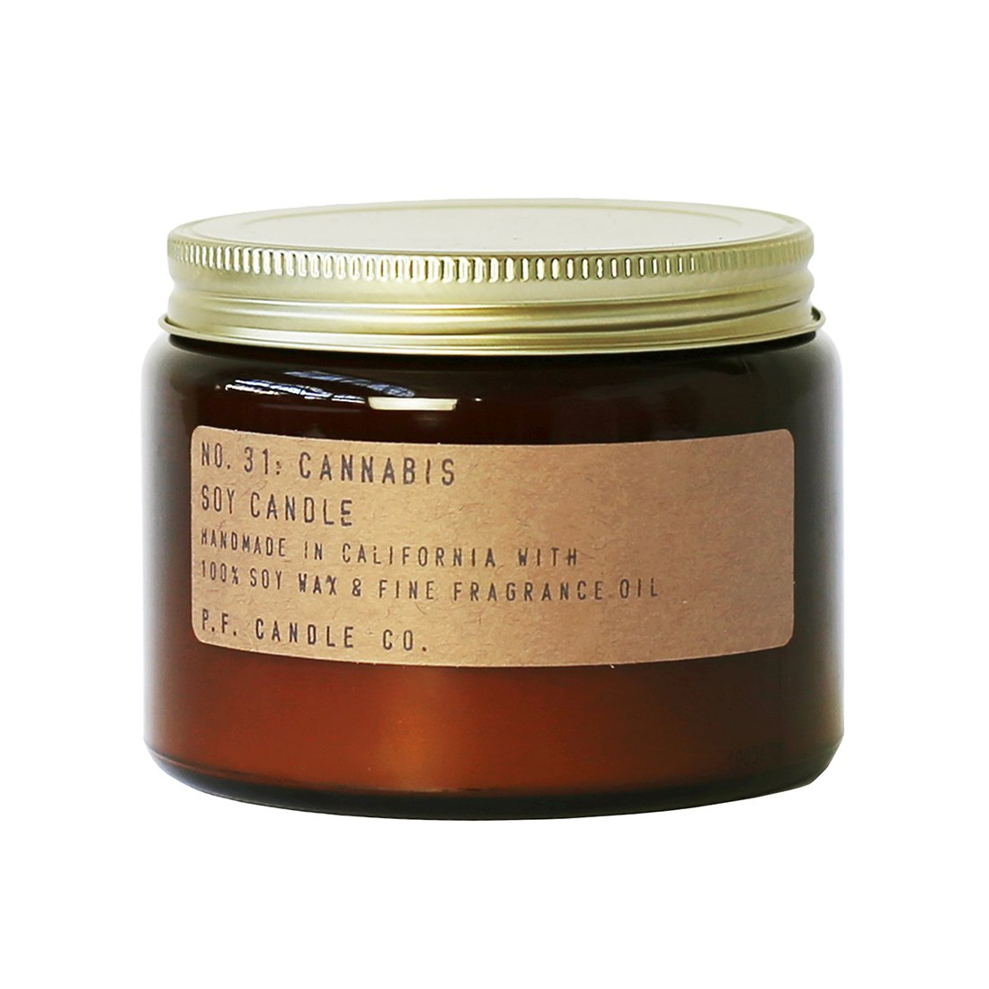 P.F. Candle Co.. - No. 31: Cannabis Candle (Double Wick 14 oz)