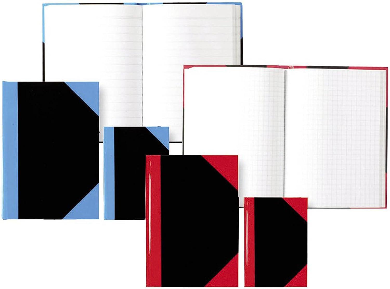 Stylex 29115 Kladde A5 kariert rot schwarz 96 Blatt