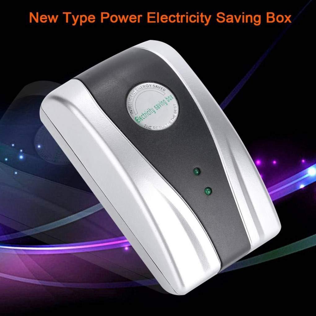 Aiming 90V-250V Electricity Power Spikes Buster Energy Saver Saving Box EU Plug pour Home Office Usine