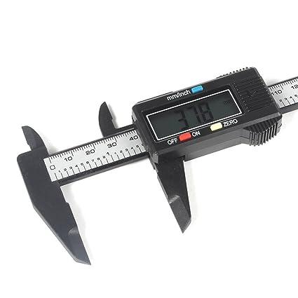 XuMarket (TM) 6 in 150 mm Calibre Vernier Digital micrómetro calibre Widescreen Electrónico con