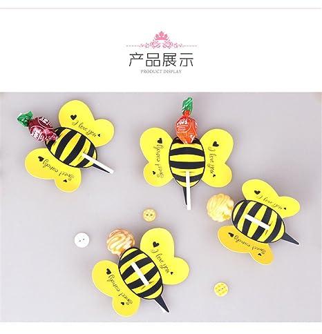 Amazon.com: 50pcs Candy Lollipop Decoración Regalo Cute ...