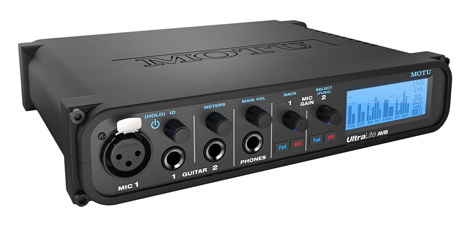 Motu UltraLite AVB USB/AVB Audio Interface MOT-XAULTR-E001