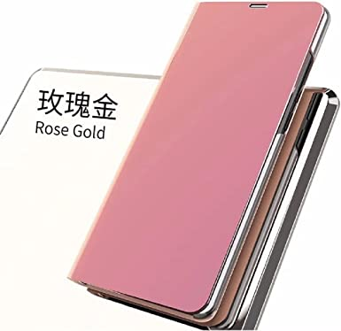 OPPO R11Plus Case, Translucent Window View Flip Wallet Stand Funda ...