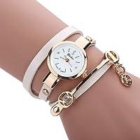 Las mujeres notebookbits FEITONG moda reloj pulsera de Metal de