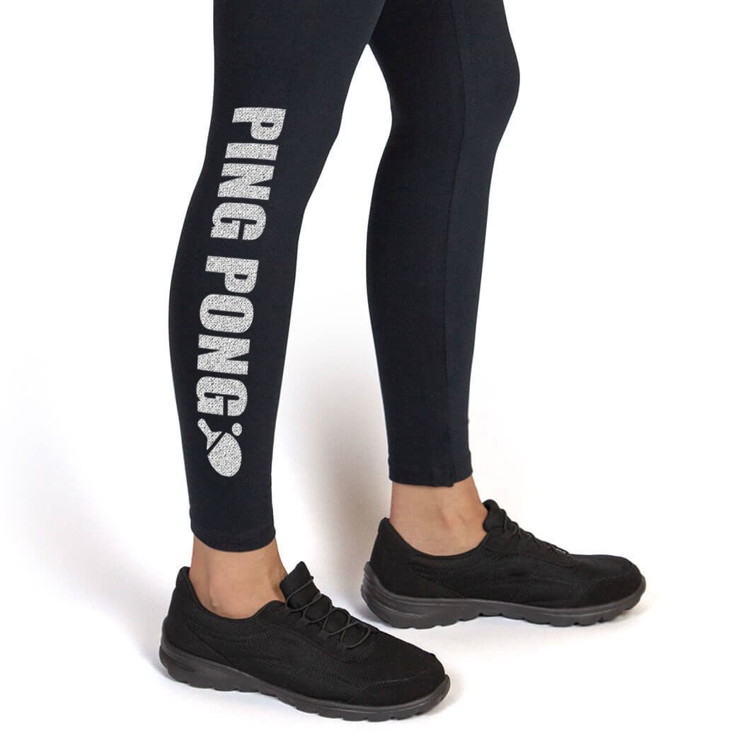 Multiple Colors Youth To Adult Sizes Ping Pong Leggings Ping Pong Leggings by ChalkTalk SPORTS