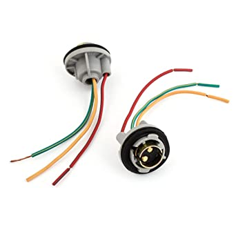 replace turn signal wiring harness replace image amazon com uxcell 1157 turn signal brake light bulb socket wire on replace turn signal wiring