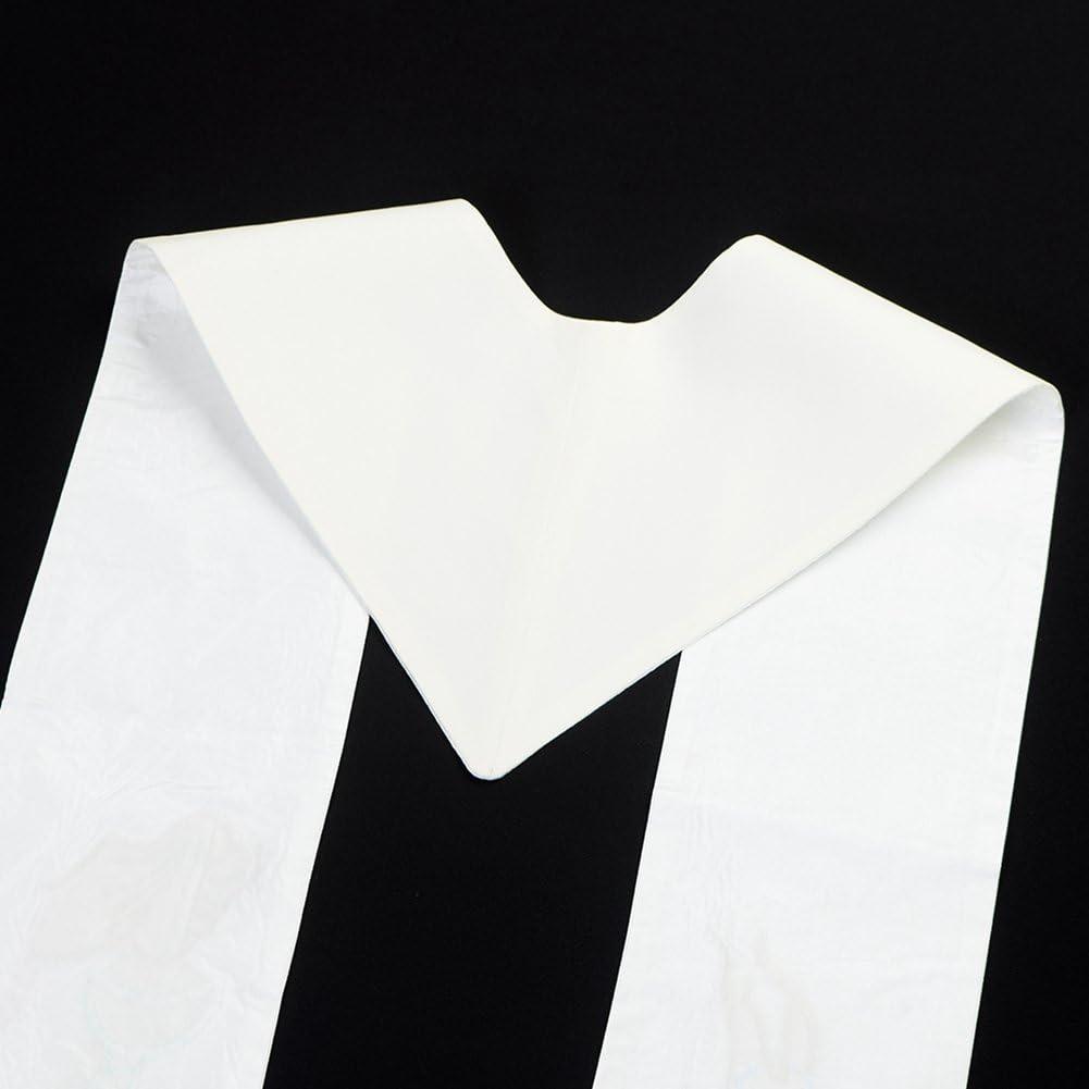 BLESSUME Sciarpa Uomo White taglia unica