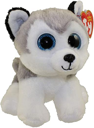 TY - Beanie Babies Buff, peluche husky, 15 cm (United Labels Ibérica 42183TY) , Modelos/colores Surtidos, 1 Unidad: Amazon.es: Juguetes y juegos
