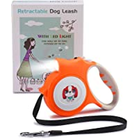 Rexbeti Retractable Dog Leash with Lights For Small Dogs