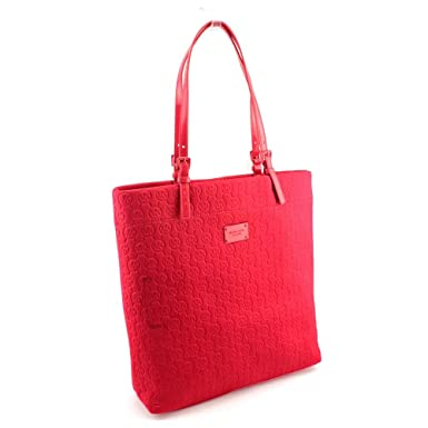 e032e164276b Amazon.com: MICHAEL Michael Kors Jet Set North/South Tote Red ...
