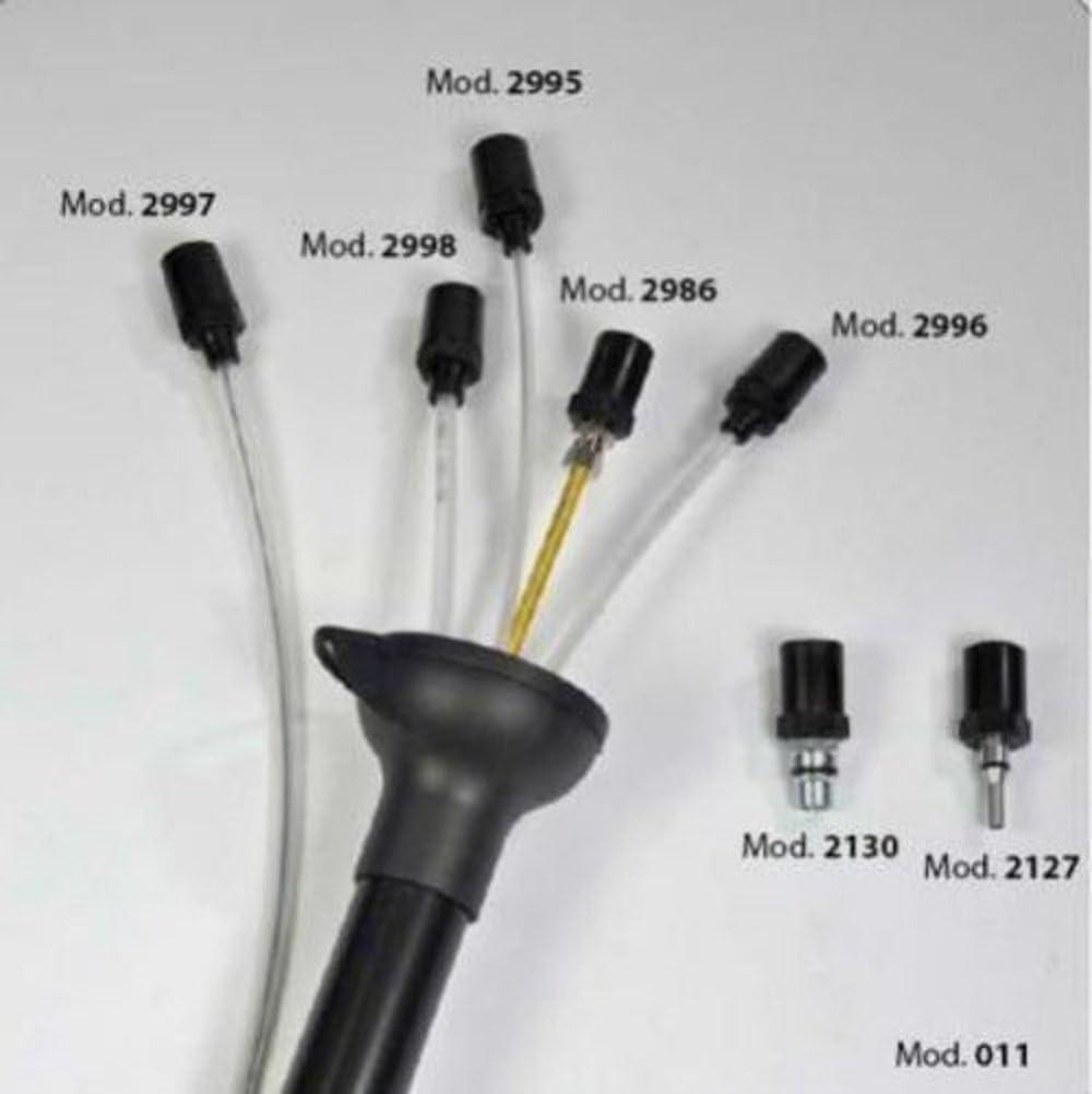 Kit de 5 + 2 sondas de diferentes diámetros para aspirador Aceite ...