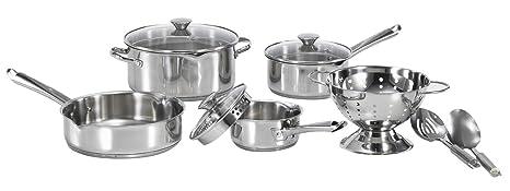 Amazon.com: T-Fal/Wearever a834s974 10-Piece fácil de Cook ...