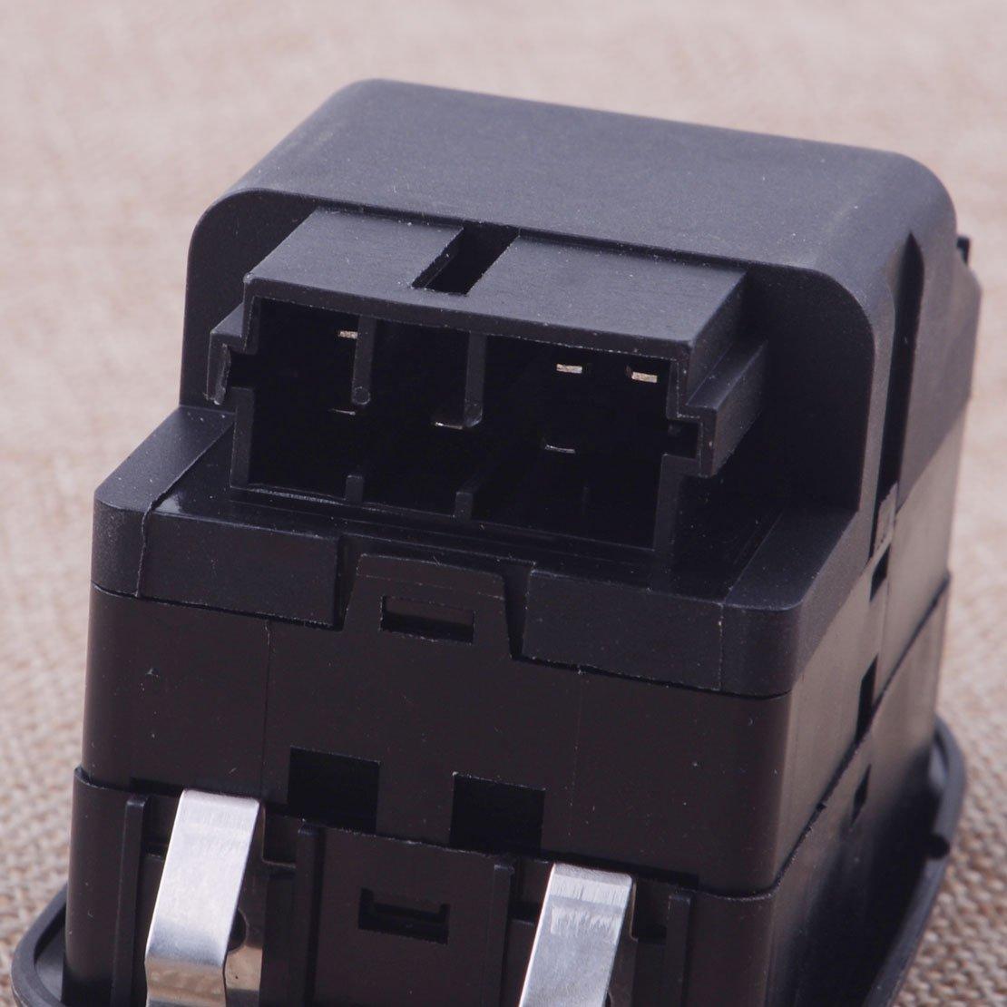 CITALL Commutateur de l/ève-vitre /électrique avant commande de bouton principal /électrique pour Peugeot 206 306