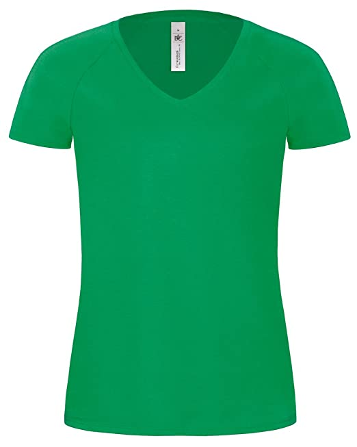 B & C Ladies Blondie Classic T-Shirt Gr. M, Grün - Kelly