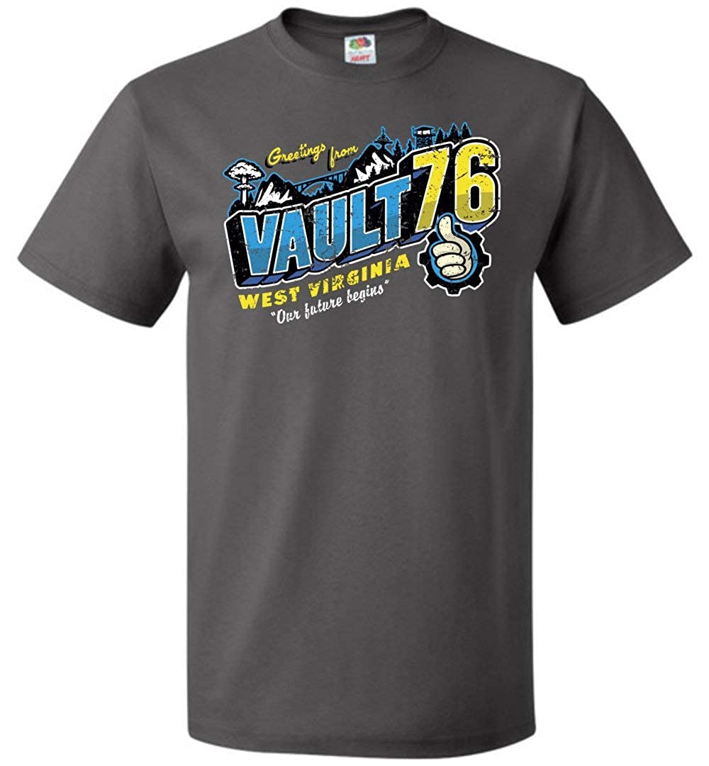 Greeting from WV Vault Unisex T-Shirt Adult Pop Culture Graphic Tee Nerdy Geeky Apparel