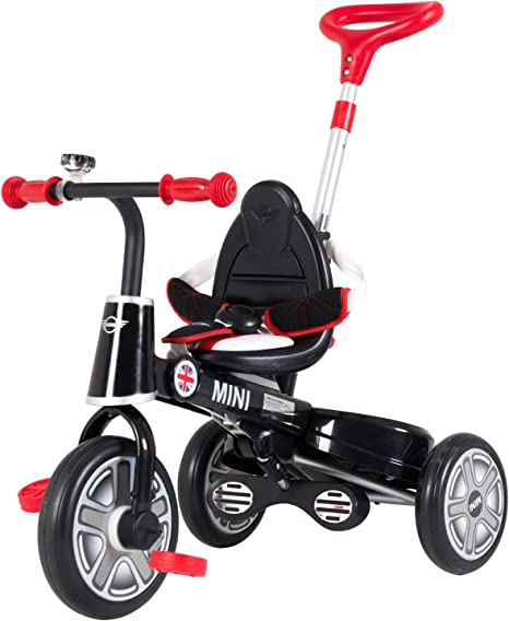 Uenjoy - Mini bicicleta para niños con manija de empuje, carriola ...