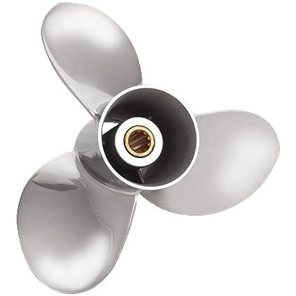 Amazon com : Solas Saturn Propeller: Honda - Stainless Steel