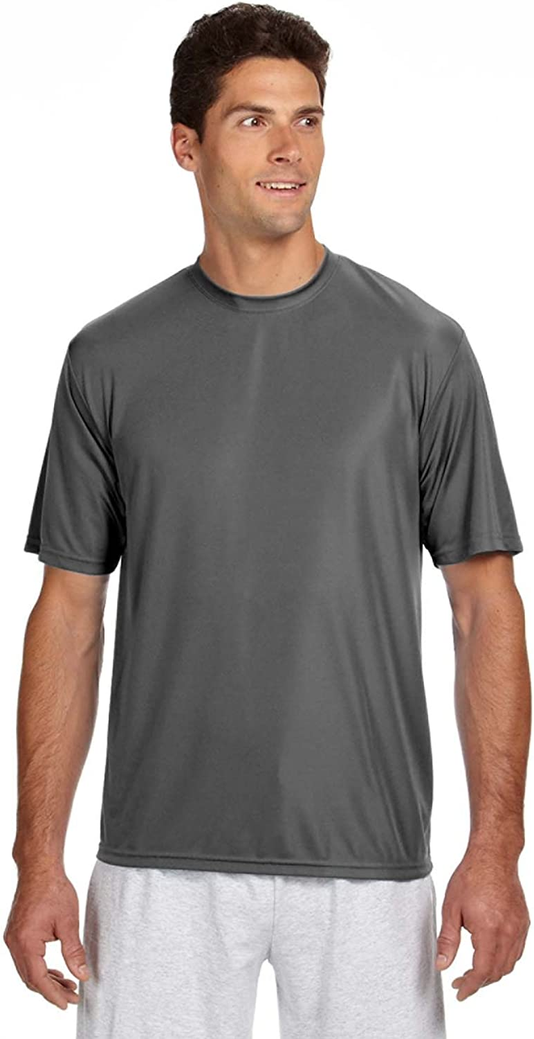 A4 Adult Cooling Performance T-Shirt, Graphite, X-Large