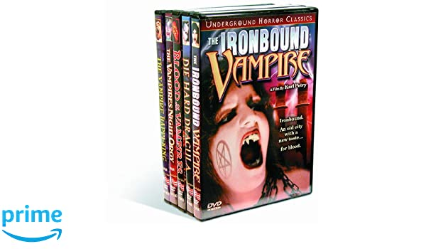Amazon.com: Vampires: Ironbound Vampire (1998) / Die Hard Dracula (1998) / Blood of the Vampires (1970) / Vampires Night Orgy (1972) / Vampire Happening ...